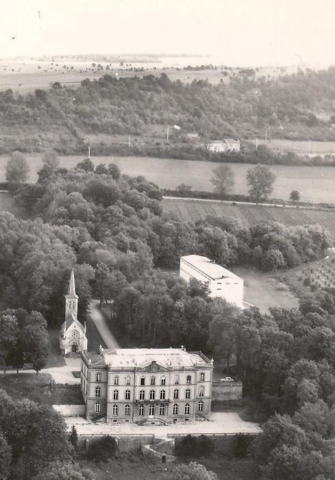 vue aérienne pix vers 1960
